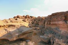 Grand canyon name is sampanbok in ubon ratchathani thailand Royalty Free Stock Images