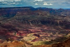 Grand Canyon Nationa Park in Arizona royalty free stock photography