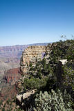 Grand Canyon National Park. View of Point Royal on the North Rim, showing the spectacular Angel's Window arch formation Stock Photos