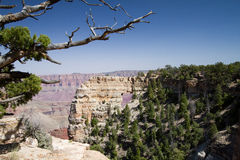 Grand Canyon National Park. View of Point Royal on the North Rim, showing the spectacular Angel's Window arch formation Royalty Free Stock Photography