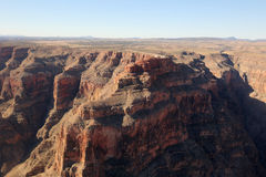Grand Canyon National Park air photo Stock Images