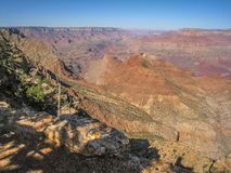 Grand Canyon National Park in Arizona. United States is one of the most visited parks in the U.S stock photos