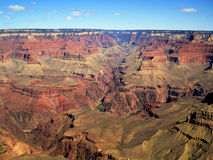 Grand Canyon National Park (Arizona, USA). Grand Canyon National Park is located in Arizona (United States). The Grand Canyon is a gorge of the Colorado River Royalty Free Stock Images