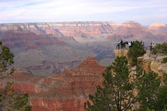 The Grand Canyon National Park AZ. Royalty Free Stock Images