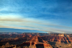 Grand Canyon National Park Fire Stock Photography