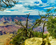 Grand Canyon National Park Mother Point and Amphitheater. Arizona, USA royalty free stock photos