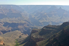 Grand Canyon National Park Overlooking a River of Green Stock Photo