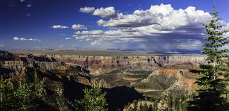 Grand Canyon National Park. Scenic view over Grand Canyon, Utah, United States of America stock photography