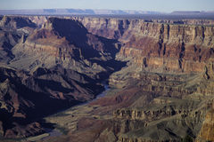 Grand Canyon National Park - South Rim Royalty Free Stock Photography