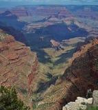 Grand Canyon National Park, South Rim. South Rim, Grand Canyon National Park Arizona; Colorado River winding through canyon royalty free stock photography