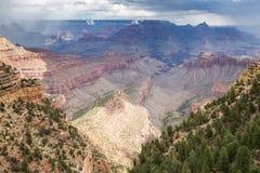 Grand Canyon National Park during a summer rainy day, Arizona, USA Stock Images
