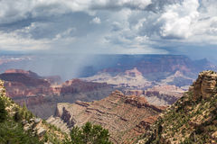 Grand Canyon National Park during a summer rainy day, Arizona, USA Stock Photography