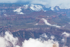 Grand Canyon National Park during a summer rainy day, Arizona, USA Stock Images