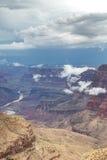 Grand Canyon National Park during a summer rainy day, Arizona, USA Stock Photos