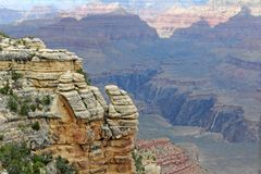Grand Canyon National Park V Royalty Free Stock Photos