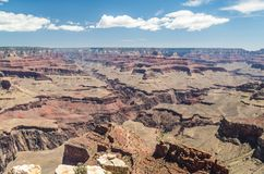 Grand Canyon National Park. View of Grand Canyon National Park Stock Photos