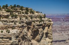 Grand Canyon National Park. View of Grand Canyon National Park Stock Photography