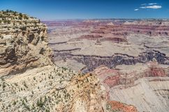 Grand Canyon National Park. View at the Grand Canyon National Park Stock Images