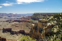 Grand Canyon National Park. View at the Grand Canyon National Park Royalty Free Stock Image