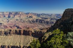 Grand Canyon National Park. View at the Grand Canyon National Park Stock Photography