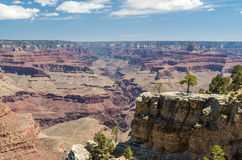 Grand Canyon National Park. View at the Grand Canyon National Park Royalty Free Stock Photography
