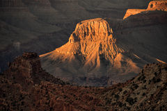 Grand Canyon National Park. View of the national park during sunset stock images