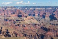Grand Canyon nationalpark på skymning, Arizona, USA Fotografering för Bildbyråer