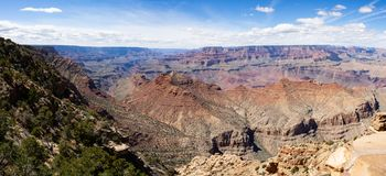 Grand Canyon nationalpark, panorama royaltyfri foto