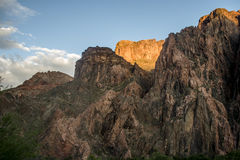 Grand Canyon nationalpark USA 18 Royaltyfri Bild