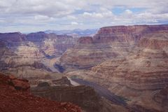 Grand canyon. A nice view from grand canyon west Stock Photos