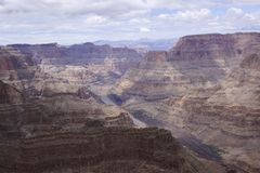 Grand canyon. A nice view from grand canyon west Stock Image