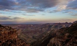 Grand Canyon Nord4 Lizenzfreies Stockbild