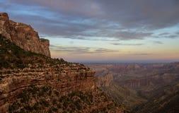 Grand Canyon norr 5 Arkivbilder