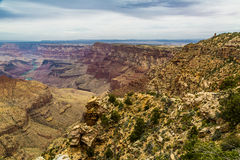 Grand Canyon norr kantsikt Royaltyfri Fotografi