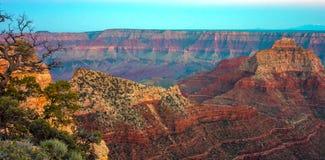 Grand Canyon, North Rim, Arizona, United States of America.  stock photo