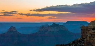 Grand Canyon, North Rim, Arizona, United States of America.  royalty free stock images
