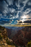 Grand Canyon North Rim Cape Royal Overlook at Sunset Stock Photography