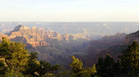 Grand Canyon North Rim Stock Photo