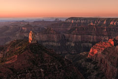 Grand Canyon North Rim Sunrise Royalty Free Stock Images