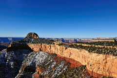 Grand Canyon Northern Arizona Aerial Royalty Free Stock Photo