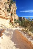Grand Canyon NP, Arizona. Trail down to Grand Canyon Stock Photo