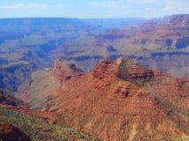 Grand Canyon oändlighetssikt Arkivbild