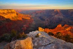 Grand Canyon o Arizona Fotografia de Stock