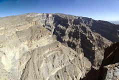 Grand Canyon of Oman Royalty Free Stock Photos