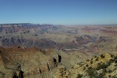 Grand Canyon -omgeving Stock Foto