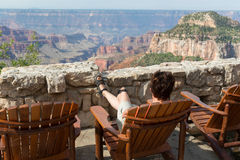 Free Grand Canyon Overlook Stock Photo - 33470110