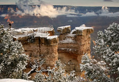 Grand Canyon Overlook Royalty Free Stock Image