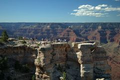 Grand Canyon Overlook Stock Photo