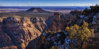 Grand Canyon Overlook Stock Photos