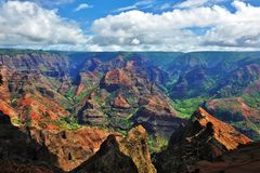The Grand Canyon of the Pacific Stock Images